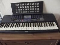 Keyboard-Yamaha-PSR-190-c/w stand and power adapter-vgc