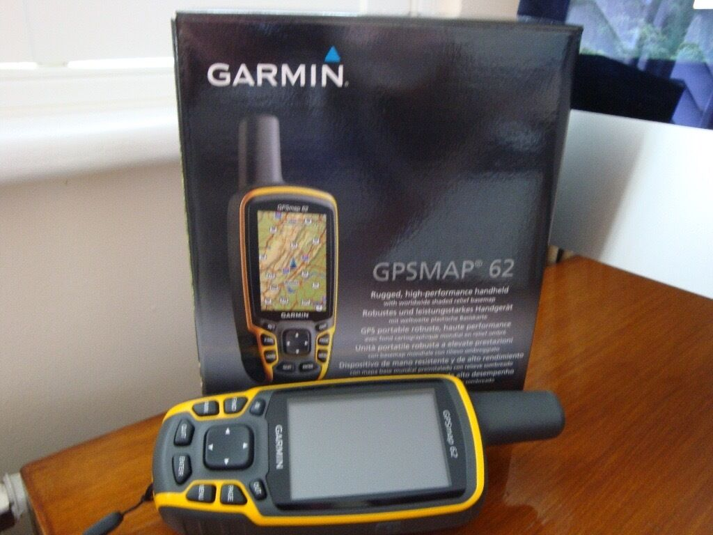 GPS Map 62in Corsham, WiltshireGumtree - GPS Map 62 Rugged high performance handheld GPS this is like new only used twice no marks or scratches, boxed and to include rechargeable batteries. Whether hiking or Geocaching this is what you need. £110 ovno collection only