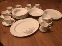 Royal Stafford Bone China Vintage Tea And Dinner Set