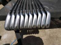Full set of golf clubs for sale Callaway bag cobra irons odyssey putter