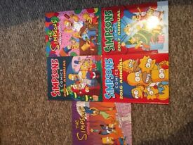 Simpsons annuals