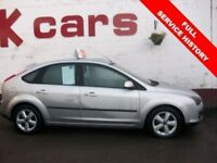 2007 FORD FOCUS 1.6 ZETEC CLIMATE FULL SERVICE HISTORY