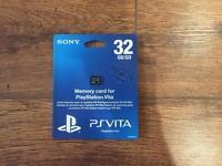 Playstation Vita 32GB Memory Card