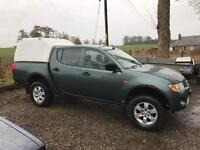 Mitsubishi L200 4 Work DiD 2007 68k Miles