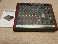 Allen and Heath ZED10FX mixing desk. Excellent condition. £160 o.n.o