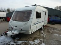 Sterling Eccles Topaz Touring Caravan