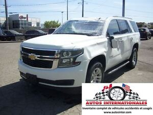 2015 Chevrolet Tahoe LS 4X4 V8 5.3L 8 PASSAGERS MPIEDS MAG CAMER