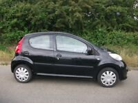 ONLY £20 A YEAR ROAD TAX 998cc PEUGEOT 107 URBAN 5 DOOR MOT JUNE 2019