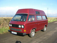 VOLKSWAGEN T3 / T25 CAMPER VAN HOLDSWORTH CONVERSION WITH LEATHER INTERIOR