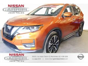 2017 Nissan Rogue SL AWD AUCUN ACCIDENT 17400 KM NAVIGATION,CUIR