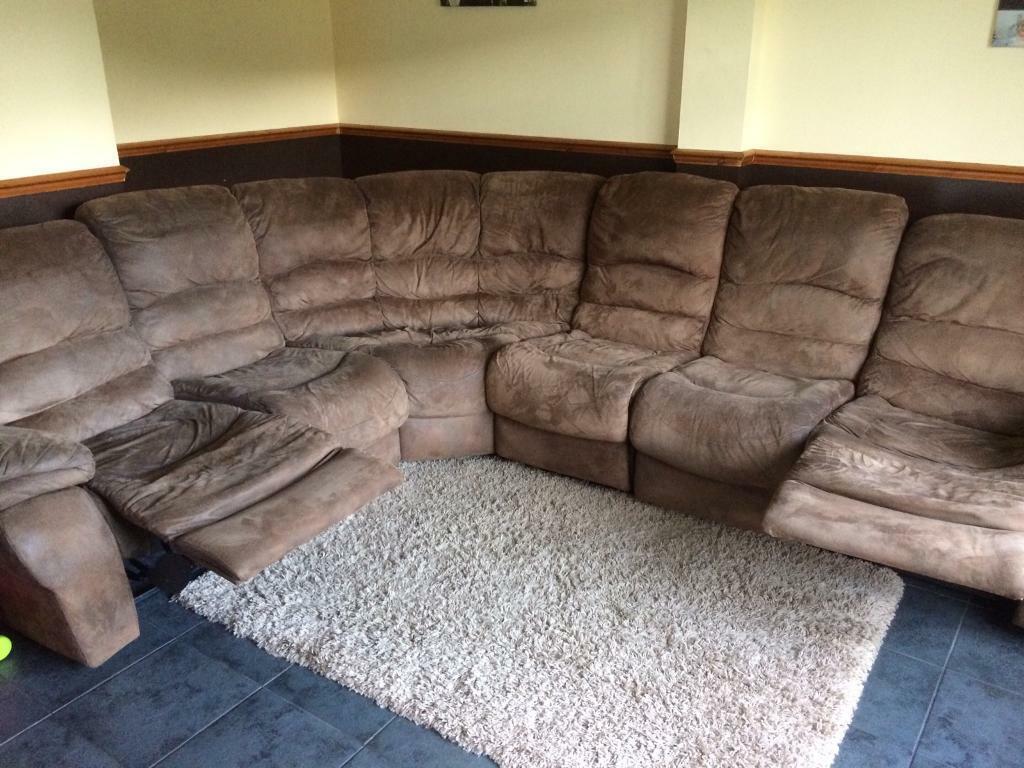 Surprising Large Corner Sofa In Brackla Bridgend Gumtree Spiritservingveterans Wood Chair Design Ideas Spiritservingveteransorg