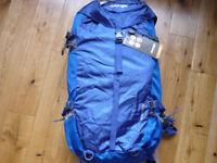 Vango Boulder 45l Rucksack/Backpack. Blue. New and unused.
