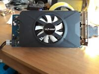 GRAPHICS CARD GTX550 TI WITH PNY DISC