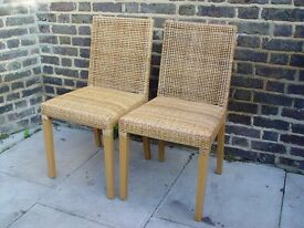 Two Woven chairs Furniture 9