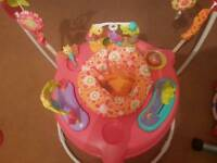 Fisher price girls jumperoo