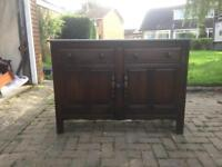 Solid oak cabinet , from Ercol of England