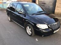 2007 07reg Chrysler Grand Voyager Executive 2.8 Turbo Diesel Automatic 7 Seater