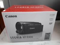 Brand New Canon Legria HFR806 HD Camcorder.
