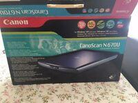 canon N670U Flatbed scanner perfectly working