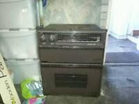 Caravan or camper oven