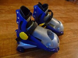 Changeable size roller skates from 9-13.5