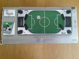 Turbo Action Air Football, mini table top air football game