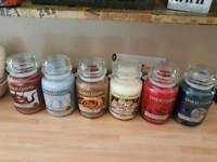 Yankee candles my favourite things