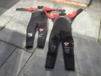 Wetsuits- children's size 7 and 8