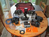 35mm Camera equipment