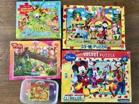 Kids puzzle jigsaw bundle
