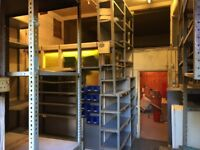 metal shelving racking for warehouse, garage, storage, stockroom