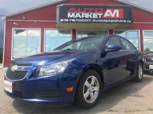 2013 Chevrolet Cruze LT Turbo, Leather, Alloys, WE APPROVE ALL C