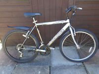 mens magna bike, new d-lock available ready to ride