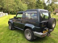 Daihatsu Fourtrack in excellent condition 80,000 miles 2000 W plate