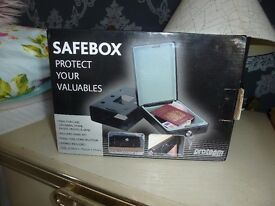 Safe Box ideal for caravan, motorhome, homes etc.