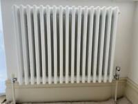 White 3 column radiator