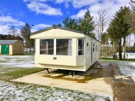 Stunning 6 berth double glazed central heated caravan for sale near Durham, Stanhope & Hartlepool.