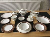 Royal Doulton 'Tennyson' dinner and tea service.