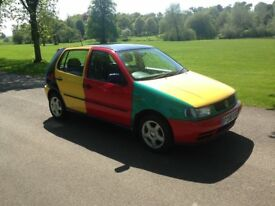 VW POLO HARLEQUIN REQUIRES NEW OWNER