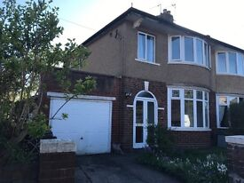 3 BEDROOM SEMI-DETACHED HOUSE TO LET IN PLECKGATE AREA (BLACKBURN) £600 PCM - AVAILABLE IMMEDIATELY
