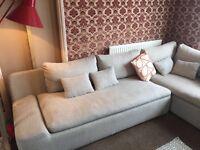 Kasha Habitat corner sofa