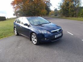2010 10 FORD FOCUS 1.6 ZETEC 5 DOOR 41000 MILES FSH MOT JANUARY 2018