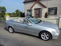 MB CLK 240 Convertible Avantgard superb condition very low miles.