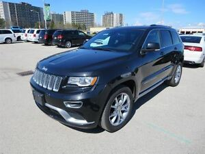2016 Jeep Grand Cherokee Summit - Hemi  4x4  Leather  GPS  Venti