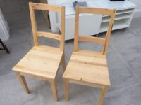 Ikea Dining Chairs X2