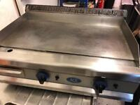 Electric & gas griddle