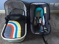 Cosatto Pram / Buggy / Car Seat travel system £200