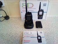wouxun KG-UV8D dualband multifunctional two way radio,2m/70cm