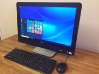DELL 9010 - 23 inch Full HD All in One PC - HDMI - USB 3.0 - Windows 10 - Desktop PC Computer