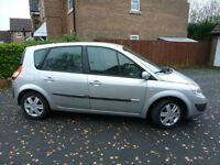 RENAULT SCENIC, GREAT RELIABLE CAR, 2006, 1.6 DYNAMIQUE PETROL MODEL, BRAND NEW 1 YEAR MOT